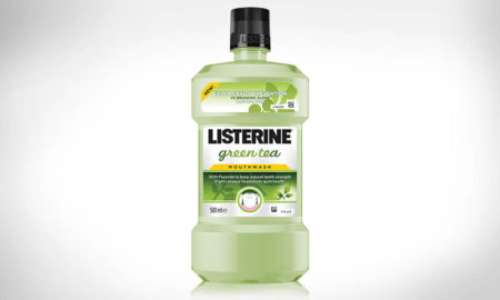 Płyn do płukania jamy ustnej LISTERINE® GREEN TEA (Johnson & Johnson)